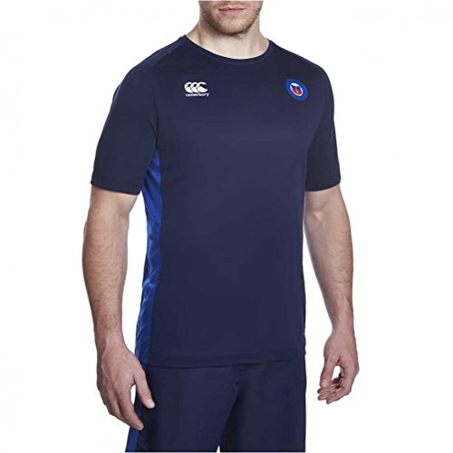 fan products of Bath Rugby Superlight Poly Training Tee - Peacoat