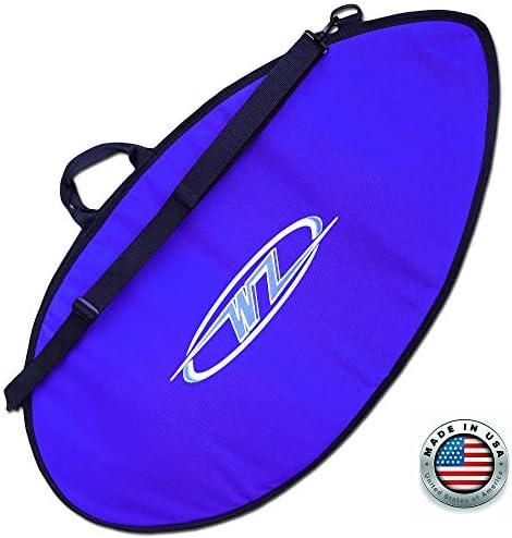 Wave Zone スキムボードバッグ - 日常または旅行用 - ブルー - 米国製 4サイズ