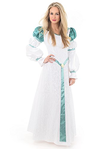 [Little Adventures Deluxe Swan Princess Dress-Up Costume for Adult Women - Size Adult 10 - 12] (Swan Princess Costume)
