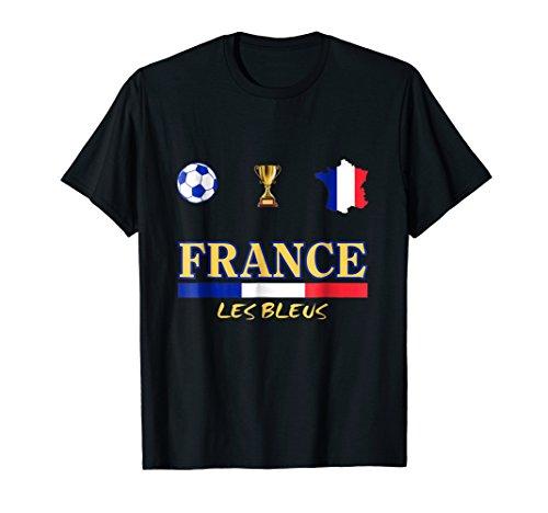 France Trophy - France Soccer Jersey World futbol 2018 cup Tshirt