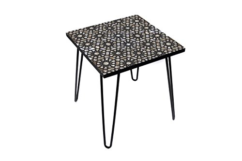Astral Pearl 20 Inches Side Table