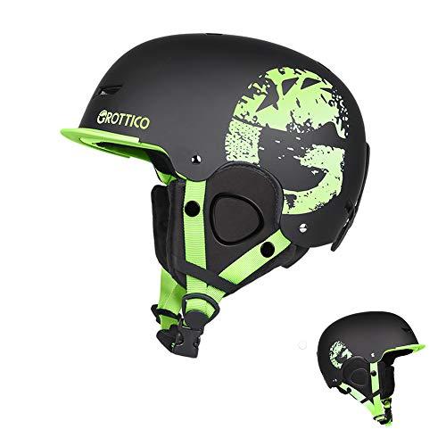 GROTTICO Ski-Snow Helmet for Kids-Youth-Women-Men - Snowboard Helmet Pass ASTM Certified Safety, 3 Sizes Options
