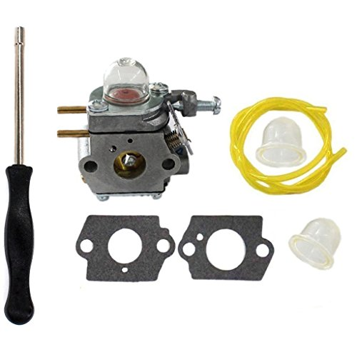 HURI Carburetor with Adjustment Tool Kit Screwdriver for MTD Murray M2500 M2510 41ADZ03C758 by HURI