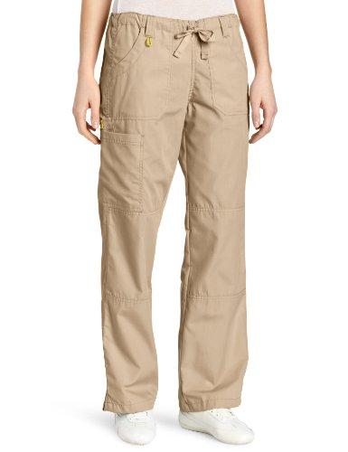 WonderWink Women's Scrubs  Cargo Pant, Khaki, Large/Tall ()
