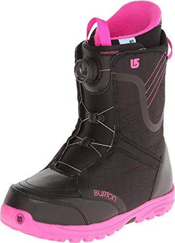 Burton Starstruck Boa Boots Black Pink Women's 7