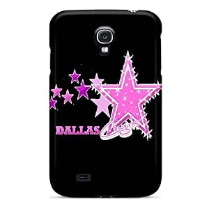 Durable Cell-phone Hard Covers For Samsung Galaxy S4 (axa5383tndM) Provide Private Custom Colorful Dallas Cowboys Pattern
