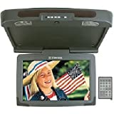 17 Widescreen (16:9) Ceiling Mount Mobile Monitor w/ Built-In IR Transmitter & Remote Control