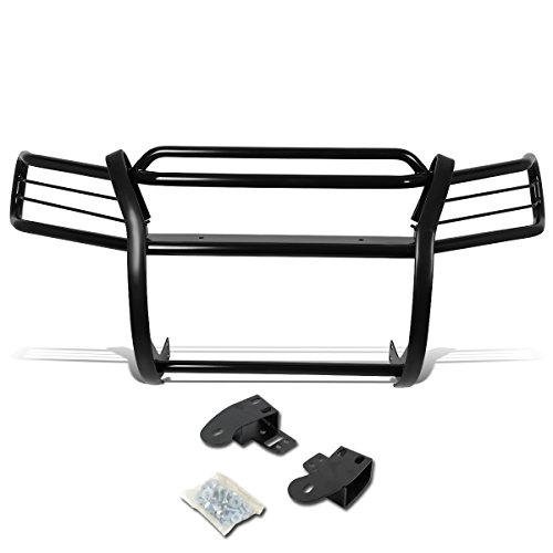 DNA Motoring GRILL-G-036-BK Black Front Bumper Brush Grille Guard [For 97-01 Honda CRV CR-V]
