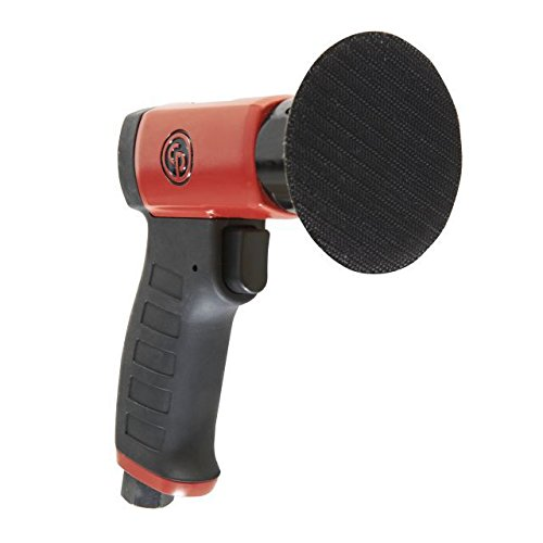 Chicago Pneumatic CP7200 Mini Random Orbital Sander – Hand Sander with Two Finger Progressive Throttle. Power Tools
