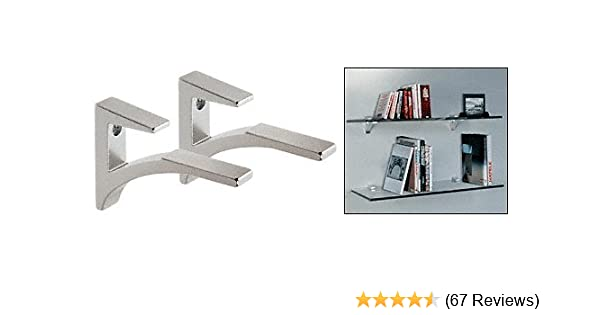 6 pcs Polished Folding Shelf Bench Table Folding Shelf or Bracket Stainless US