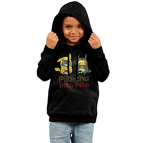 Price comparison product image Pikachu Pokemon GO Cute Cotton Hooded Sweatshirts For Toddler Boys Girls