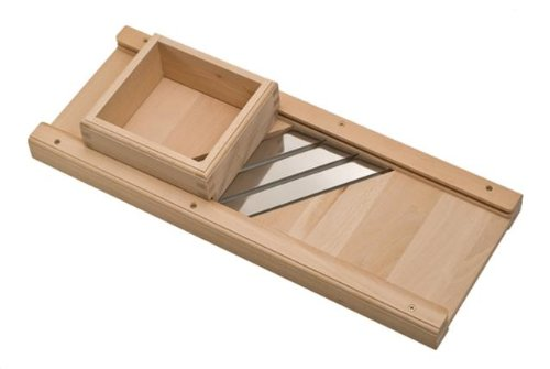 Heavy Duty Wooden Miracle Cabbage Shredder – From Germany
