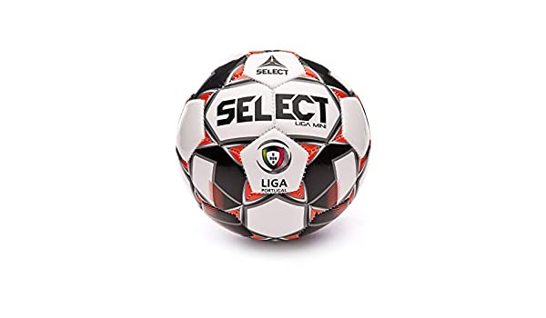 SELECT Liga Mini 2019-2020, Balón, White-Red-Black, Talla 1 ...