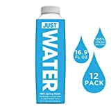 JUST Water, Premium Pure Still Spring Water in an Eco-Friendly BPA...