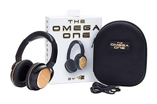 Octane Wireless Bluetooth Over-Ear Headphones with mic, Lightweight, Super comfortable memory foam, Iphone 7 optimized, shareme + luxury design