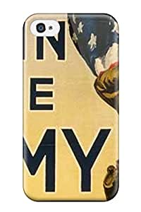 New Iphone 4/4s Case Cover Casing(american Flag Join The Army)