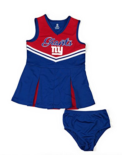 (Outerstuff New York Giants Football Girls Cheerleader Dress Clothing Apparel)