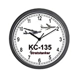 CafePress – KC-135 Stratotanker – Unique Decorative 10″ Wall Clock For Sale