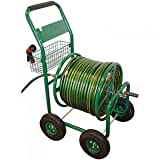 Heavy-Duty Steel Construction Hose Wagon With Comfort-Grip Handle And 10 in. Pneumatic Tires, 350 ft. Hose Capacity (5/8 in.)