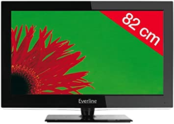 EVERLINE Televisor LCD 32EVC4N81HC - negro: Amazon.es ...