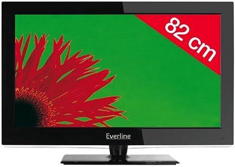EVERLINE Televisor LCD 32EVC4N81HC - negro: Amazon.es: Electrónica