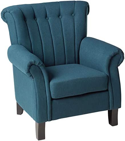 Best living room chair: Christopher Knight Home Waldorf Channel Fabric Club Chair