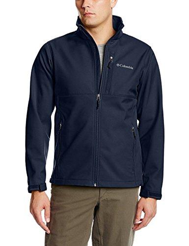 Columbia Men's Ascender Softshell Front-Zip Jacket, Collegiate Navy, 3XL