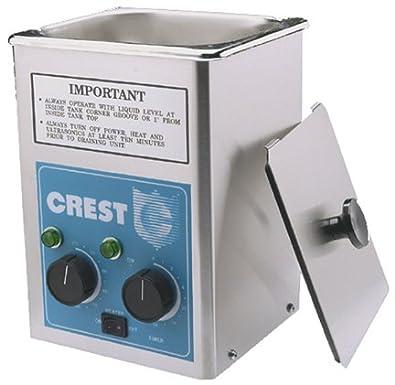 Amazon com: Crest Ultrasonic Cleaner Tru Sweep 175HT Heated