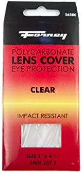 Lenses 4 1//4 Inch x 2 Inch 10 X Clear Anti Spatter Lens Parweld Welding