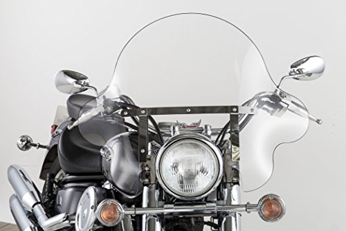 - Slipstreamer SS-32 20in. Falcon Windshield with Chrome Hardware - Clear