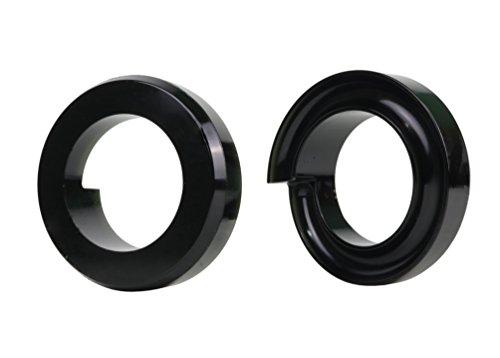 Nolathane REV174.0006 Black Front Coil Spring Lift Isolator Bushing Set - I In-I In - Front Spring Lift Isolator