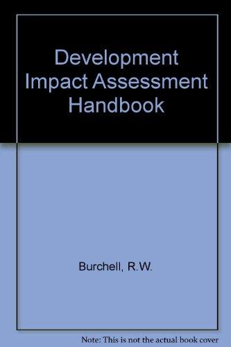 Development Impact: Assessment Handbook