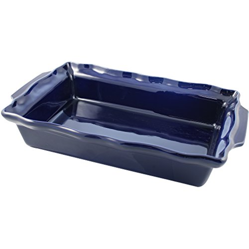 Swissmar Le Cordon Bleu Charmant Medium Rectangular Roasting Dish, 3 Quart, Cordon Bleu