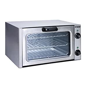 Adcraft Countertop Stainless Steel Convection Oven, 12.5 x 20.75 x 15.5 inch -- 1 each.
