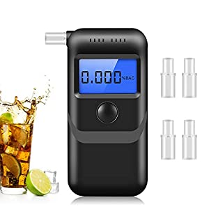 Breathalyzer, Portable Digital Breath Alcohol Tester, Professional-Grade Accuracy for Personal & Professional Use
