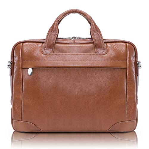 McKlein, S Series, BRONZEVILLE, Pebble Grain Calfskin Leather, 15