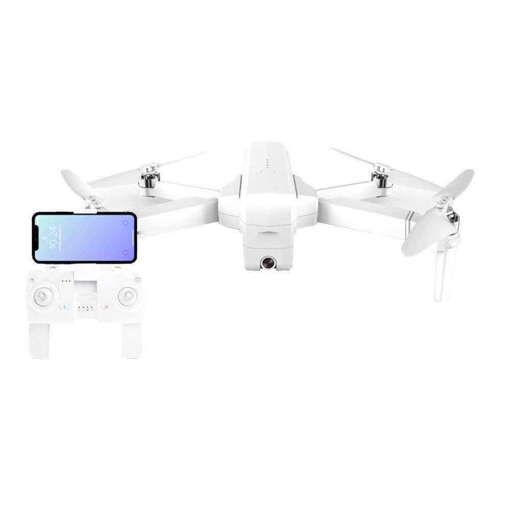Drone con videocamera Live Video e GPS con Ritorno Quadcopter con Pieghevole Regolabile grandangolare 1080P
