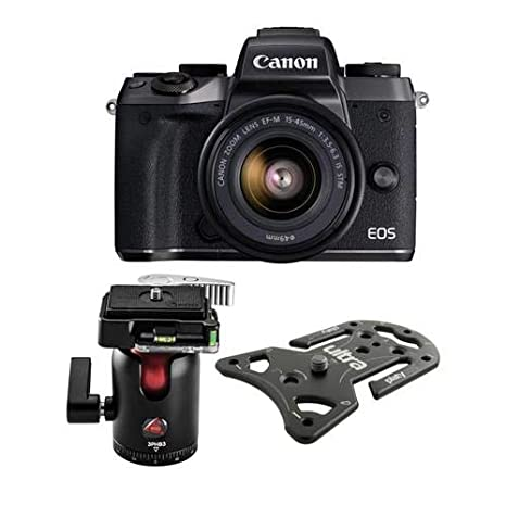 Buy Canon EOS M5 Mirrorless Camera with EF-M 15-45mm f/3 5-6 3 is