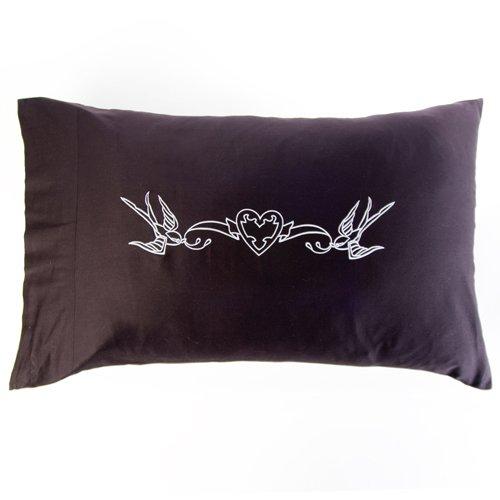 Sin in Linen Love Birds Pillowcase Set