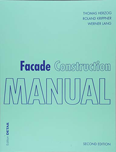 Facade Construction Manual (Detail Construction Manuals) for sale  Delivered anywhere in USA