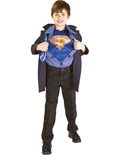 Clark Kent to Superman Muscle Chest Child's Costume, Medium for $<!--$9.99-->