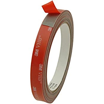 3M Scotch RP25 VHB Tape: 1/2 in. x 15 ft. (Grey)