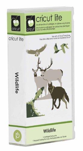 Cricut Lite Cartridge Wildlife by Provo Craft