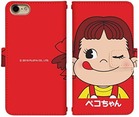 iPhone XR ベルト有り 手帳型 スマホケース スマホカバー di302(A) ペコちゃん ポコちゃん ドッグ グッズ ア