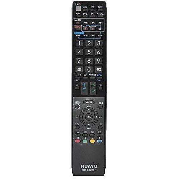 Mando a Distancia para TV Sharp Aquos LED/LCD/Plasma: Amazon.es: Electrónica