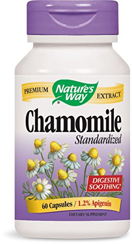 Nature's Way Chamomile, 60 Capsules (Pack of 2) ()