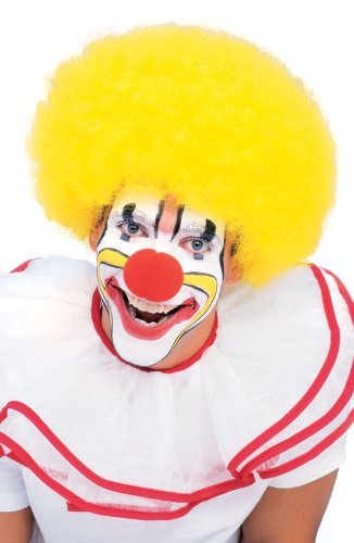 Rubie (Yellow Afro Clown Wig)