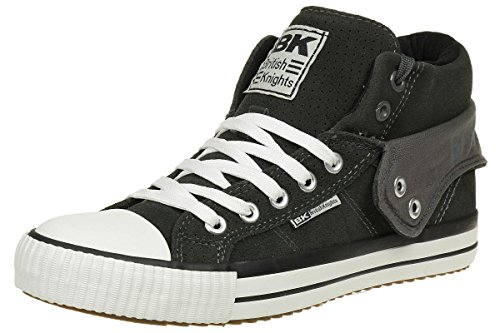 British Knights ROCO BK men trainer Sneaker B40-3705-06 Suede grey, shoe size:EUR 45