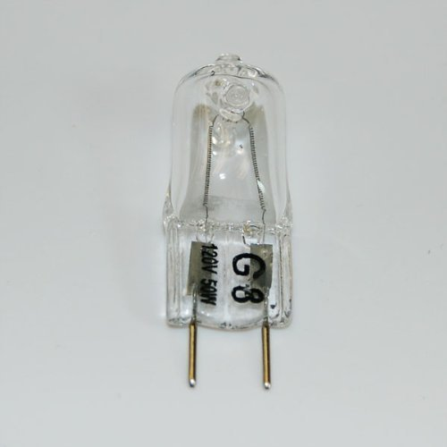 50w Jcd Type - Triangle Bulbs T10049-5 Set of 5 50 Watt Halogen Bi-Pin Light Bulb, JCD Type 120 Volt, G8 Base, 5XG8-120V-50W