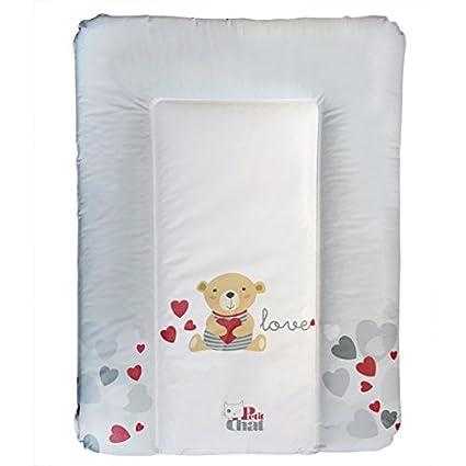 Colchón Cambiador de Bebé Blando de Petit Chat 70*5*50 cm- modelo Osito